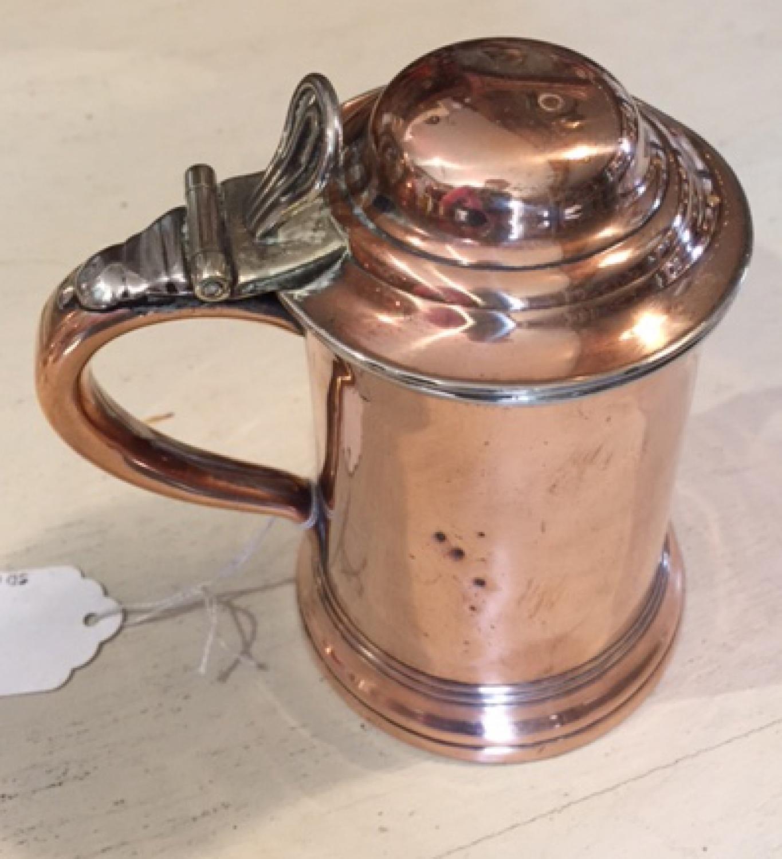 Georgian English 1/2 pint tankard