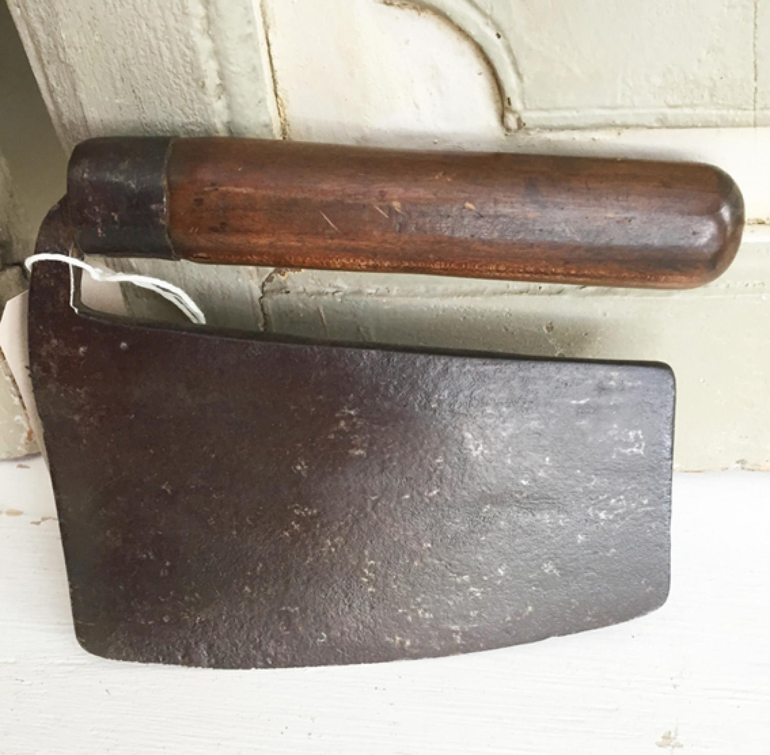 19th Cent Country Kitchen Herb Chopper