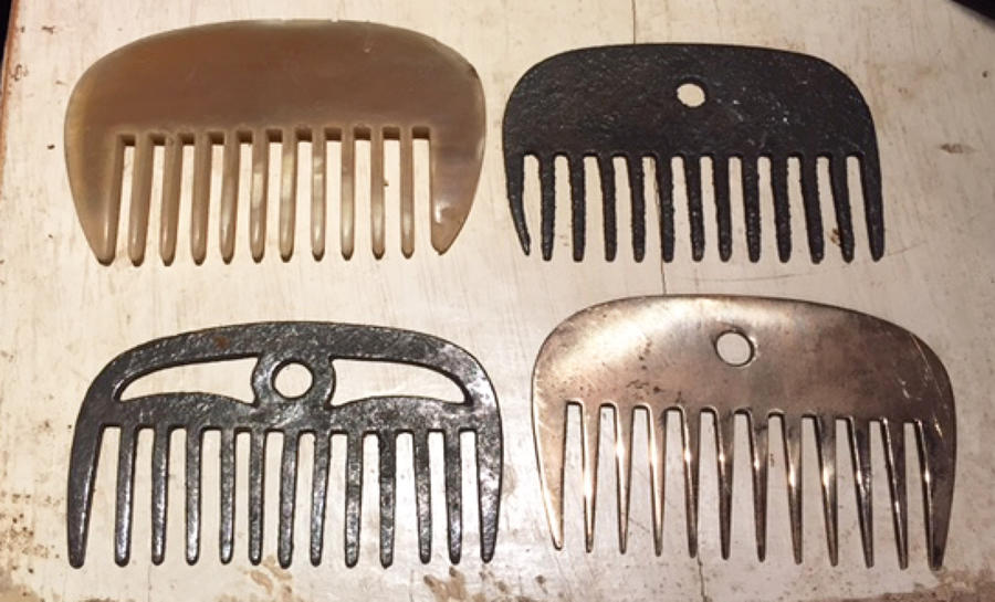 Antique Horse Combs