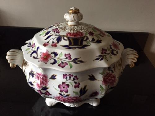 Fabulous Large Ironstone Tureen