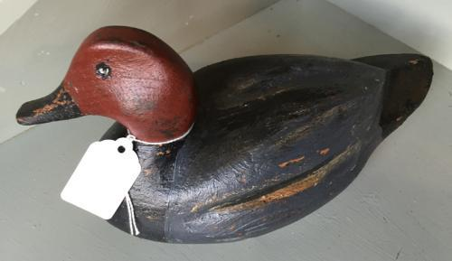 Antique Decoy Duck (Male Pochard)
