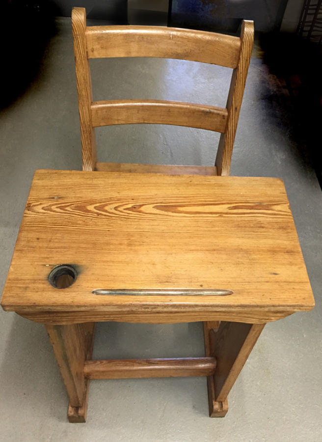 Victorian Child's School Desk