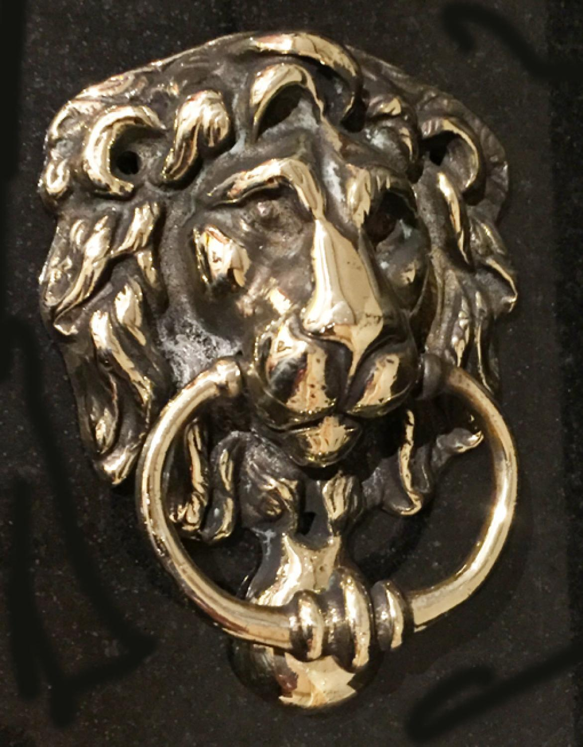 Quality Brass Lion Door Knocker