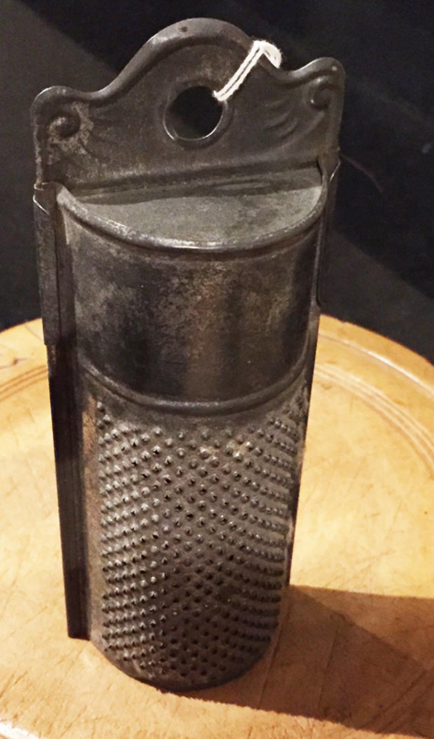 Antique 'Rising Sun' Nutmeg Grater