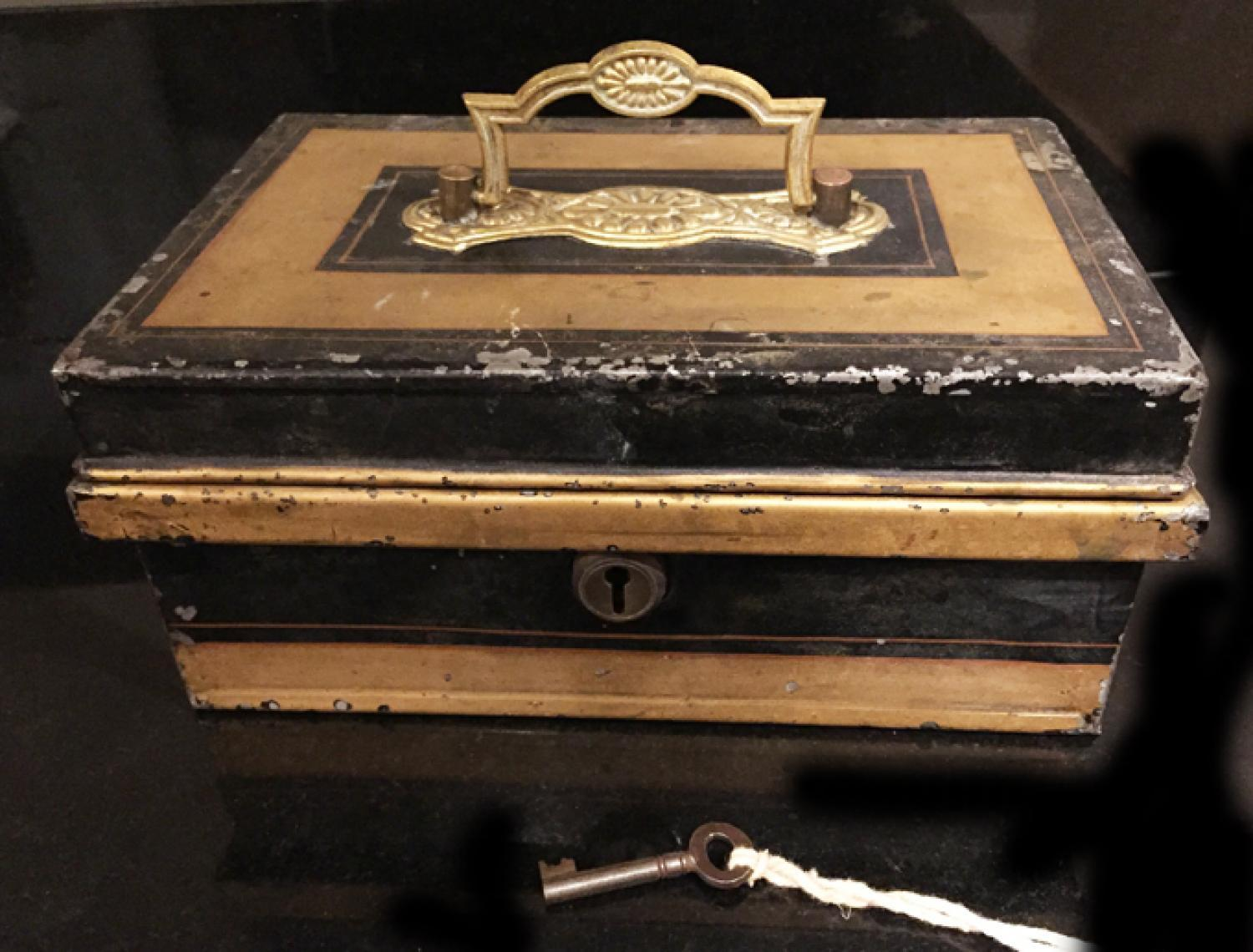 Antique Cash Box