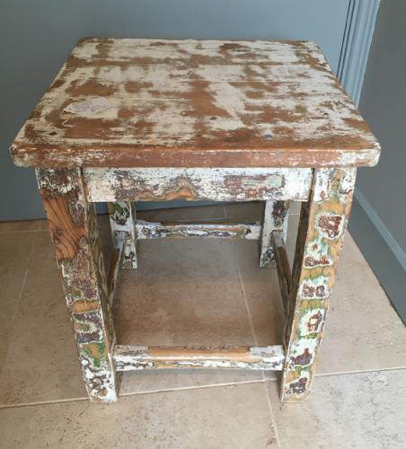 Square Table Stool (various)