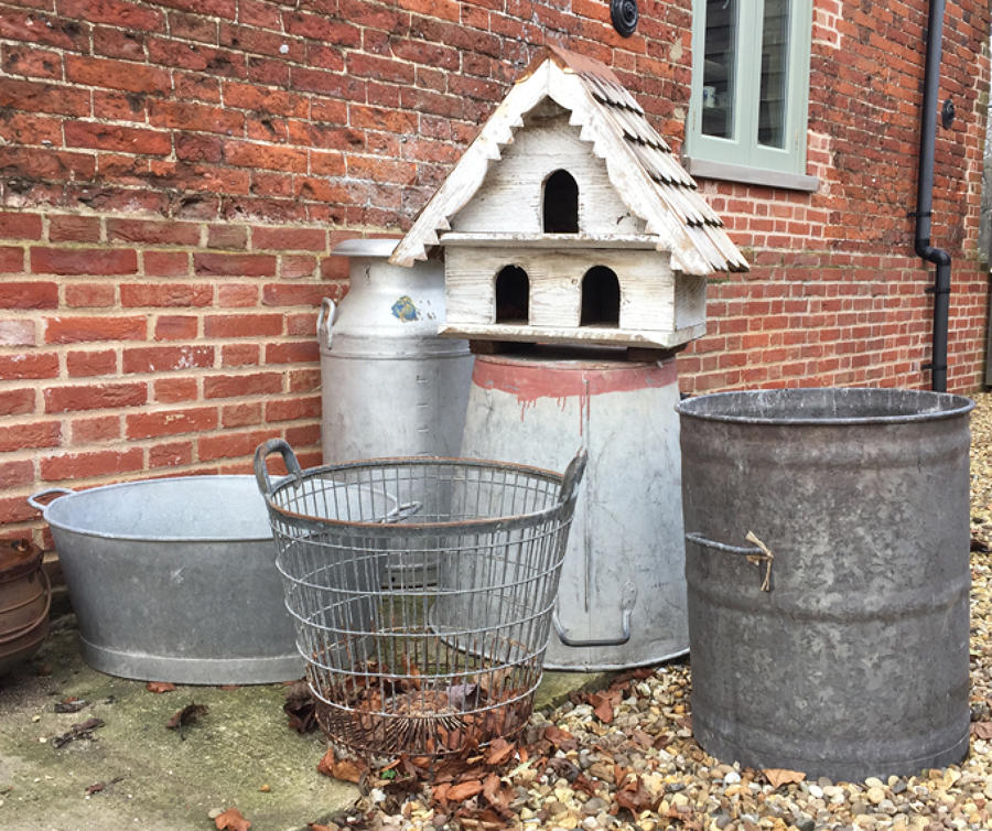 Galvanised Baths and Planters