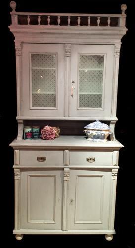 Victorian Painted Dresser