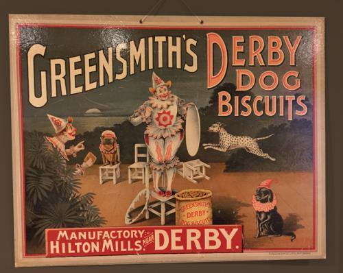 Edwardian Greensmith\'s Derby Dog Biscuits Sh