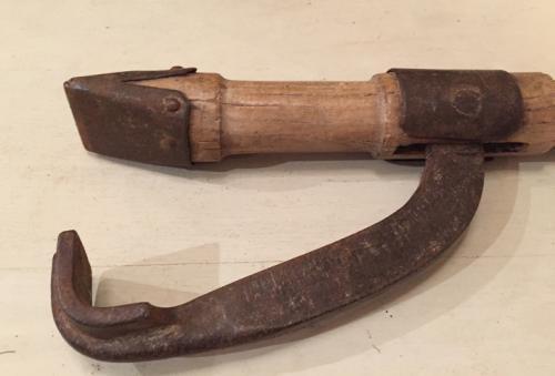 Antique Cooper's Hoop Dog