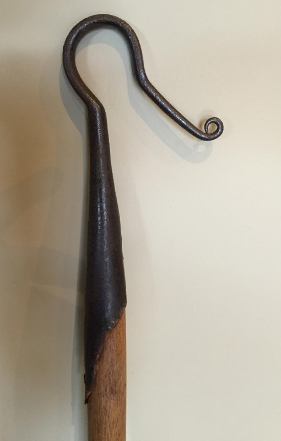 Antique Shepherd's Leg Crook