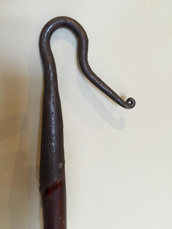 Antique Shepherd's Leg Crook