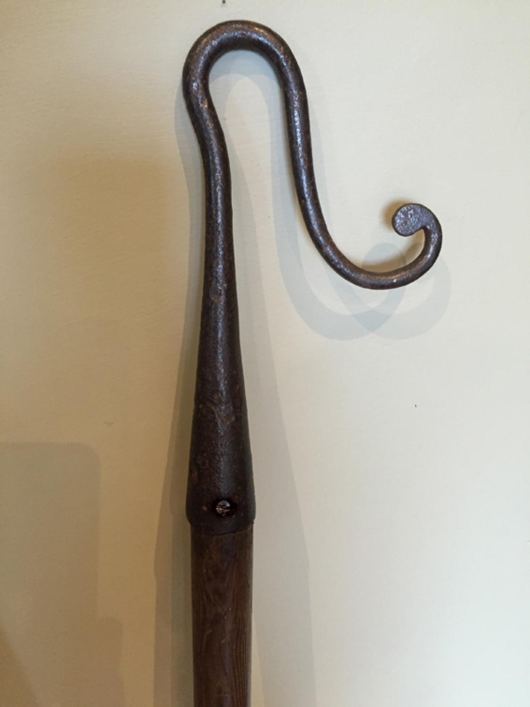 19th Cent Shepherd'S Crook (Cast head)