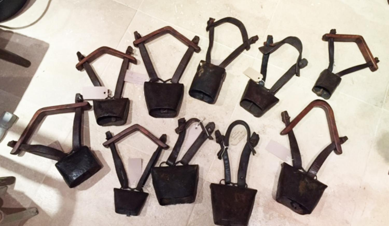 Antique Shepherd's Clucket Bells (various)