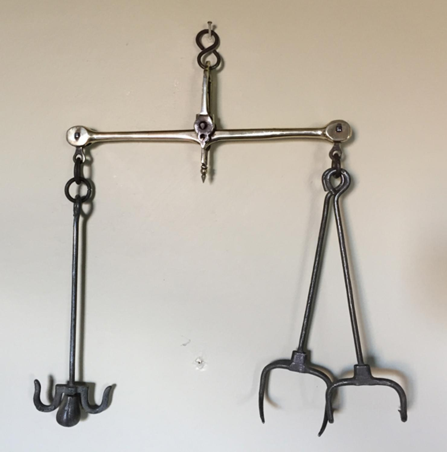 19th Cent Baker's Bread Scales