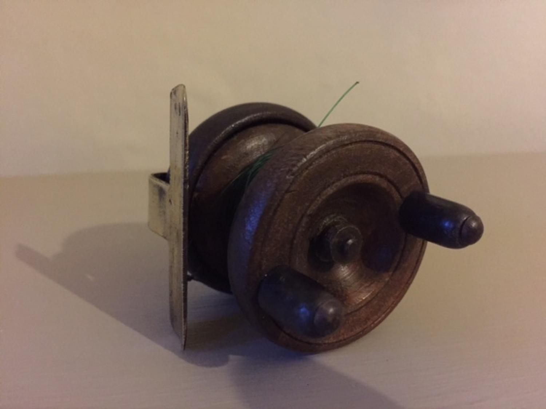 Vintage Wooden Fly Reel