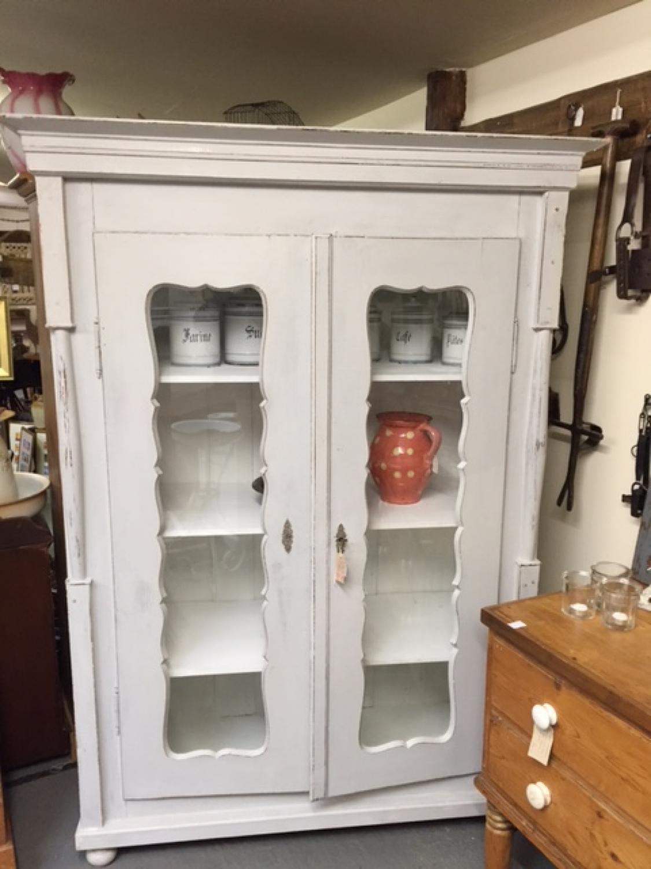 Stunning wardrobe/cupboard with shaped doors
