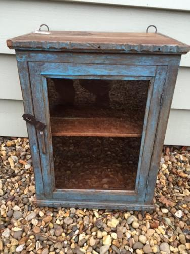 Small 19th Cent Wall cupboard