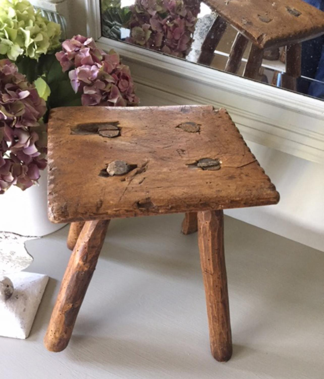 Primitive Country Stool