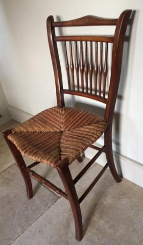 Antique Rush Seat Chair