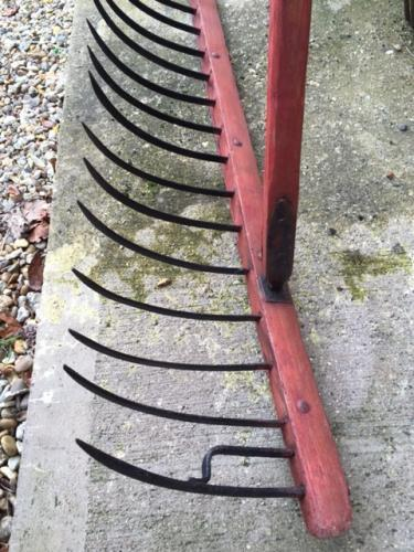 Antique Norfolk Drag Rake