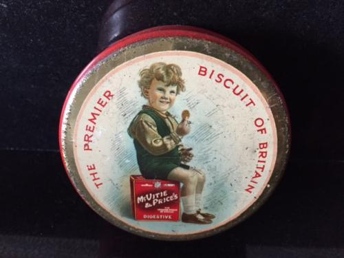 Vintage McVitie & Price Sample Biscuit tin