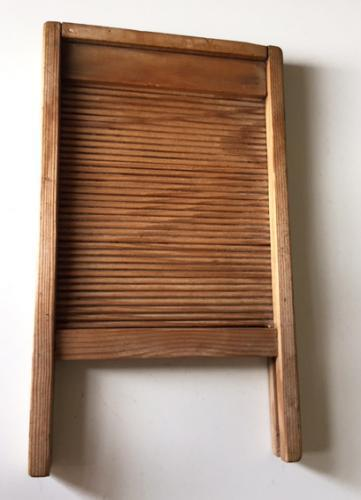Antique Child\'s Toy Wash Board