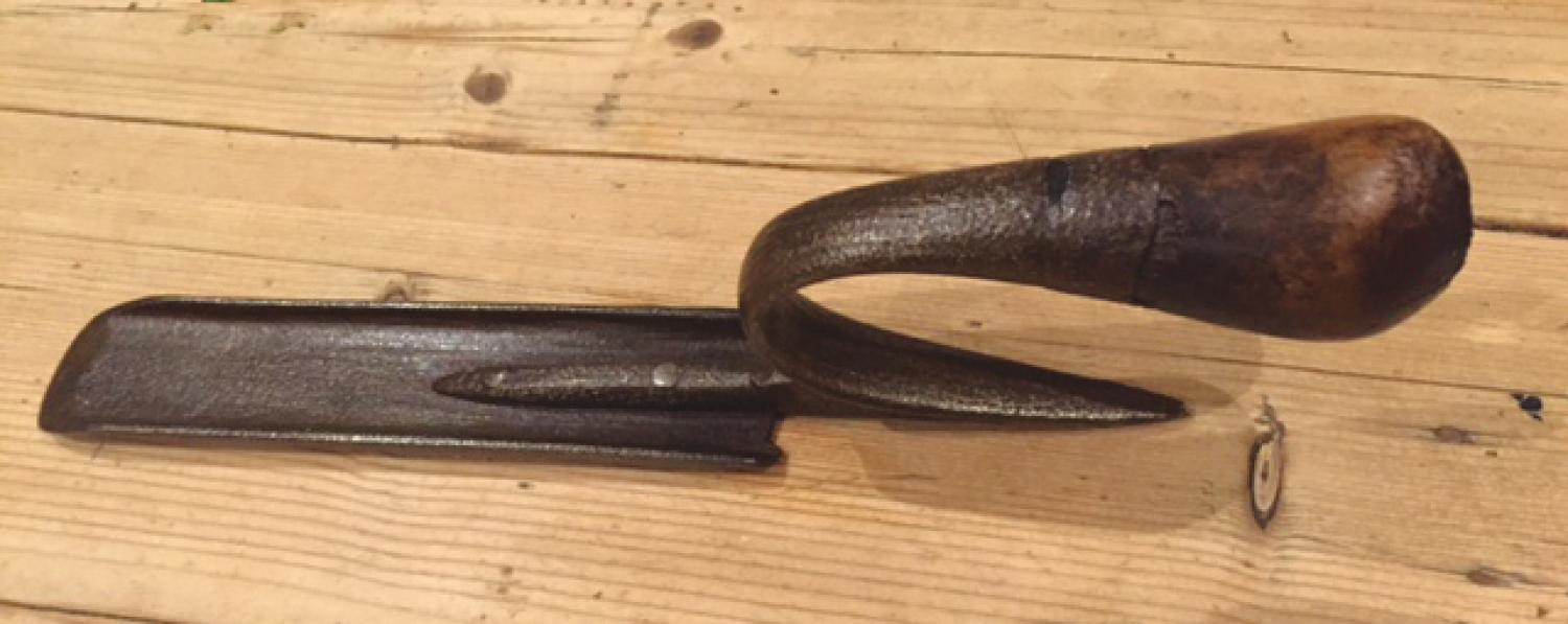 19th Cent Farrier's Buttress Knife