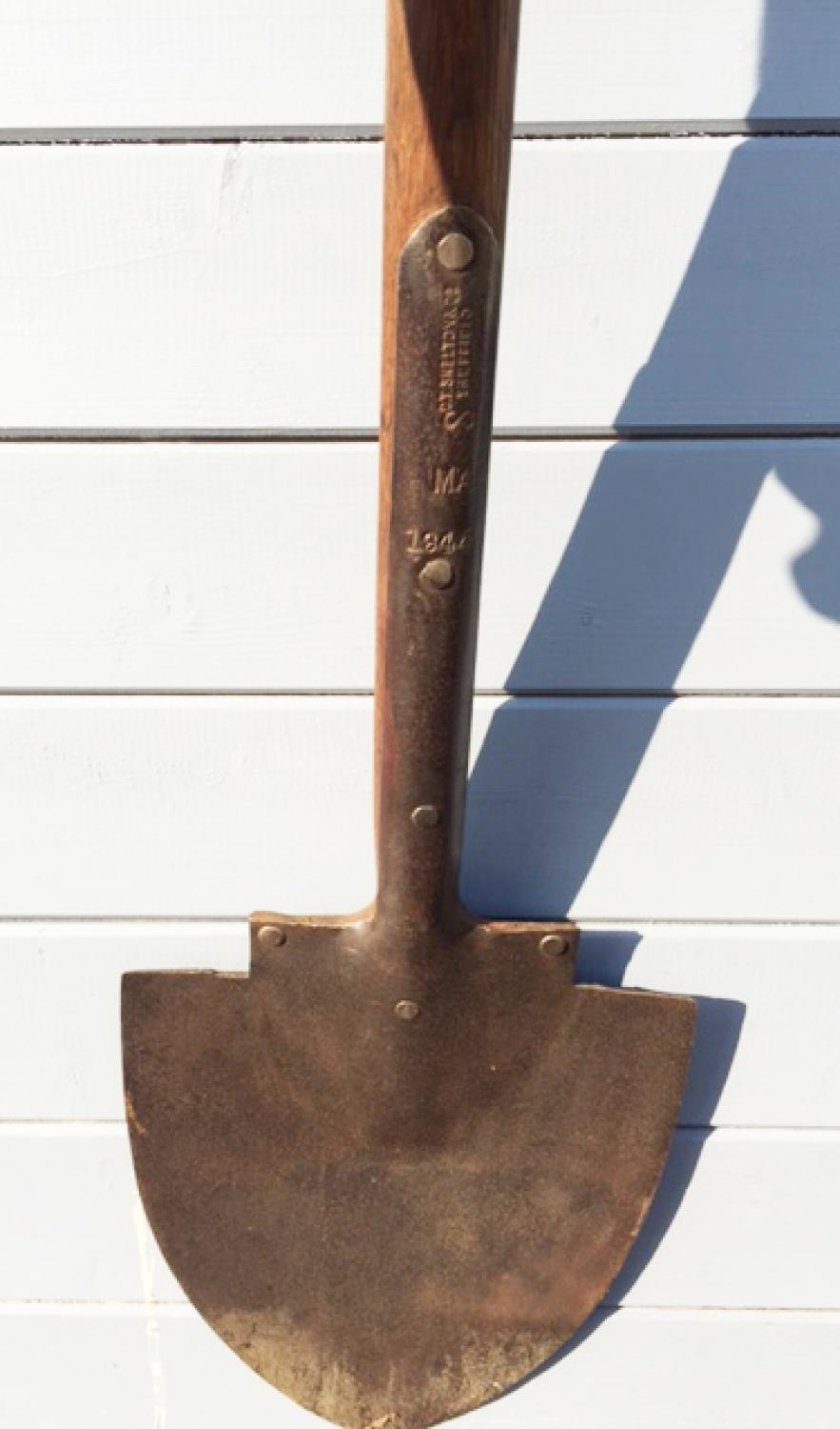 Antique Long Handled Dyke Spade in ANTIQUE FARM TOOLS