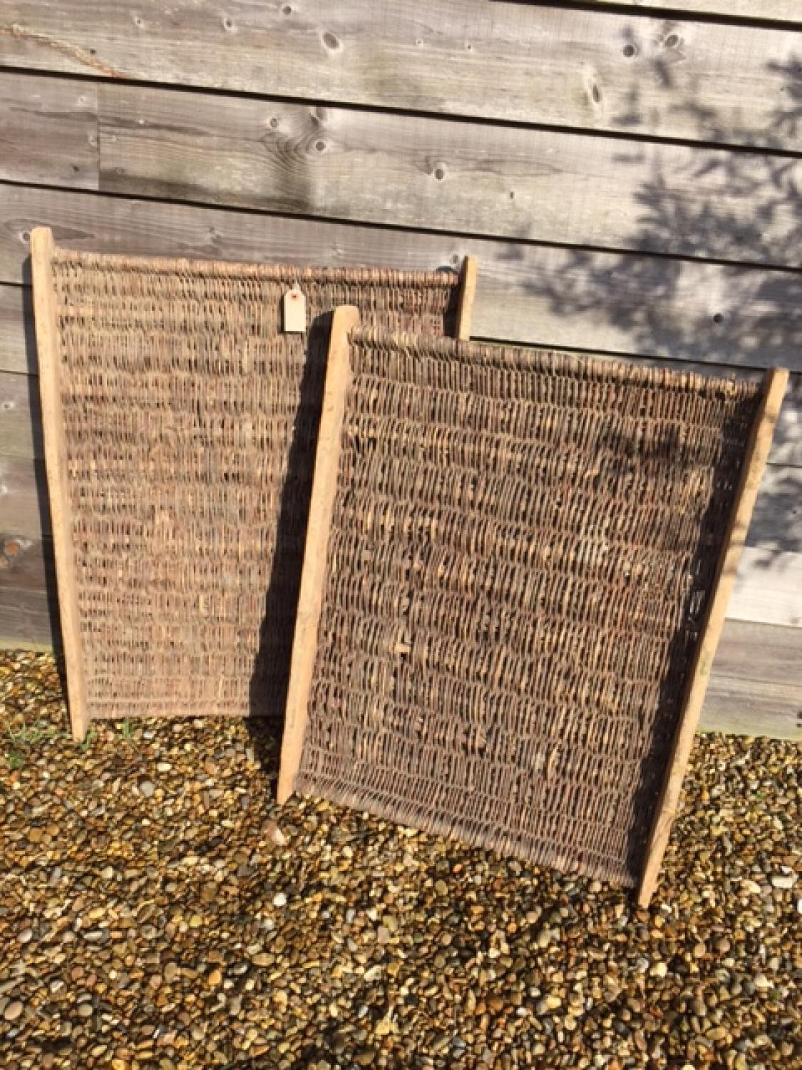 Antique Fruit Carrier/Storage Racks