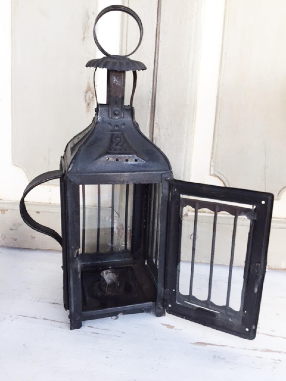 Antique Tin Lantern (size 2)