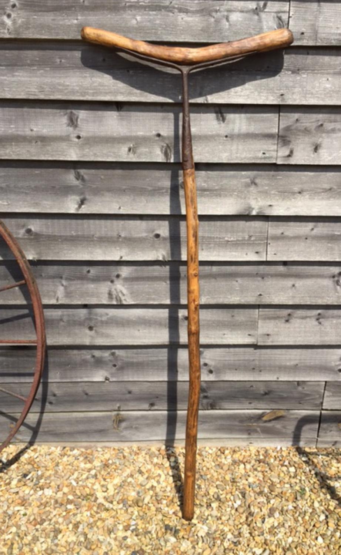 Rare 19th Cent Sheep Wash Pole