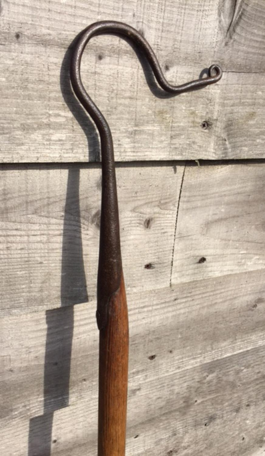 19th Cent Dorset Shepherd's Leg Crook