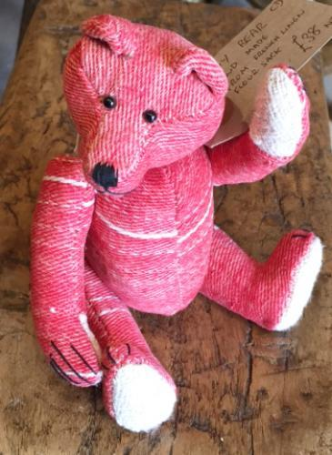 Antique French Linen Teddy Bear