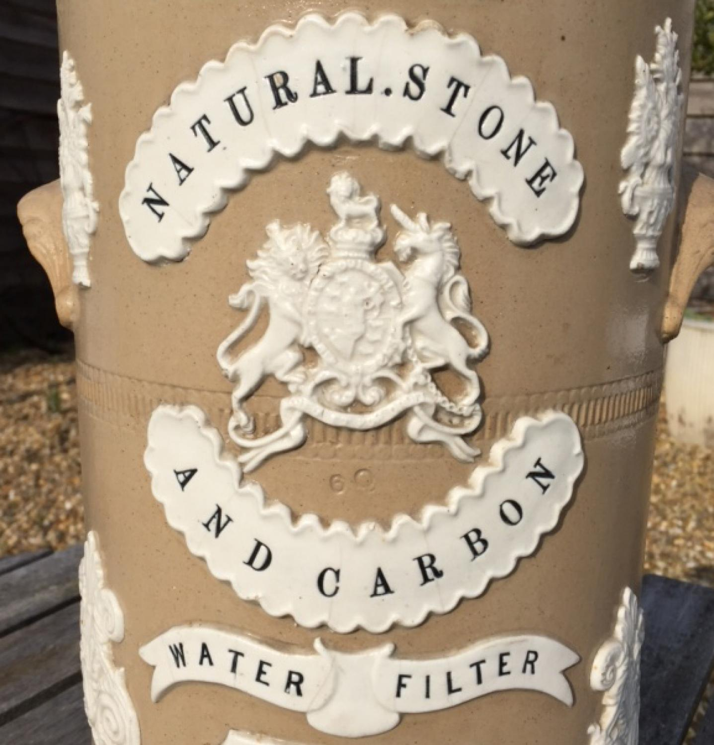 Victorian Water Filter