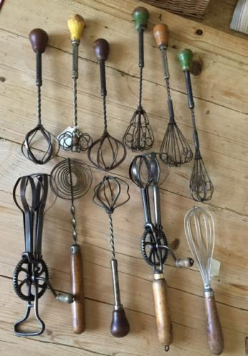 Selection of Antique Whisks