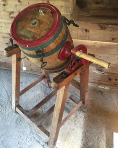 Quality 'Up and Over' Butter Churn