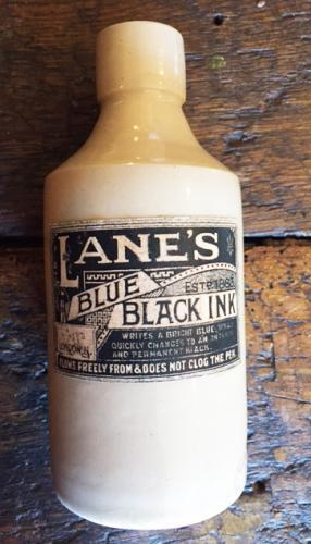 Antique Stoneware Ink Bottle
