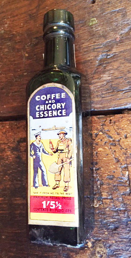 Vintage Coffee Essence Bottle