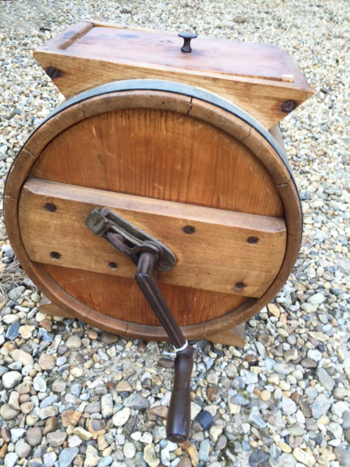 Antique Table Top Butter Churn