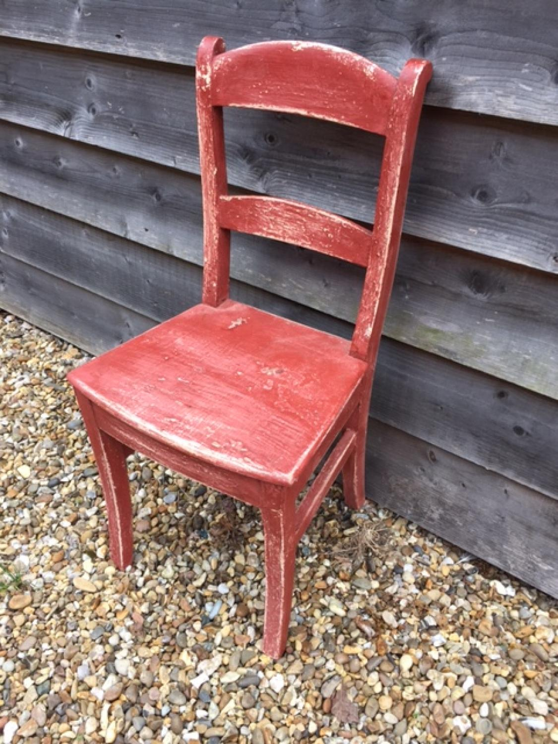 Country Red Chair