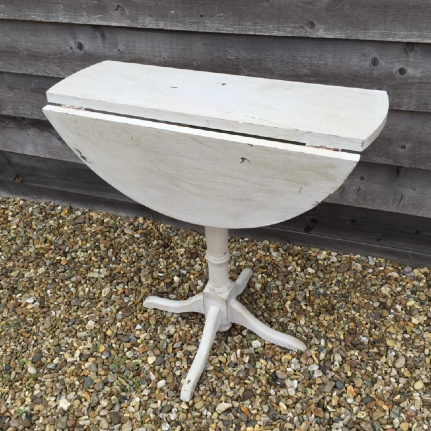 Antique Small Folding Drop Leaf Table