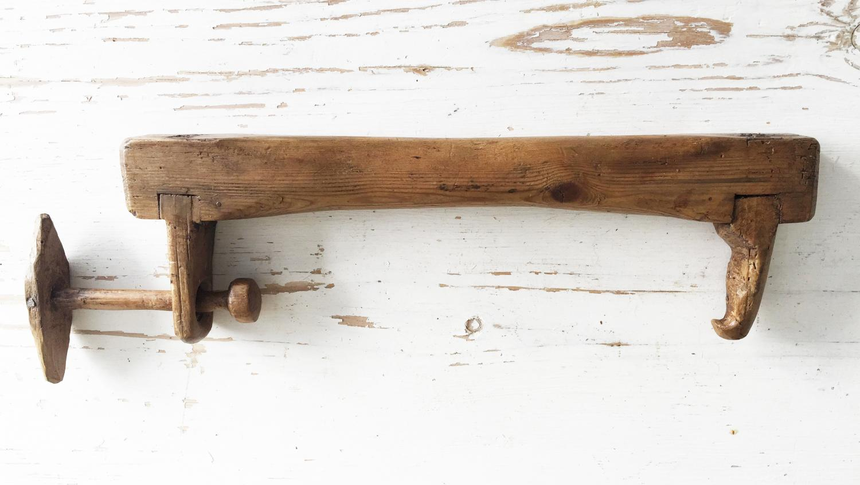 Antique Norfolk 'Throw Hook' Wimble