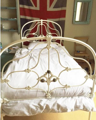Edwardian Single Cast Iron Bed