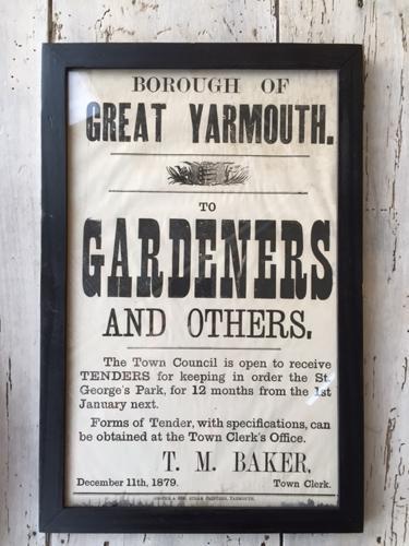 Victorian Bill Poster