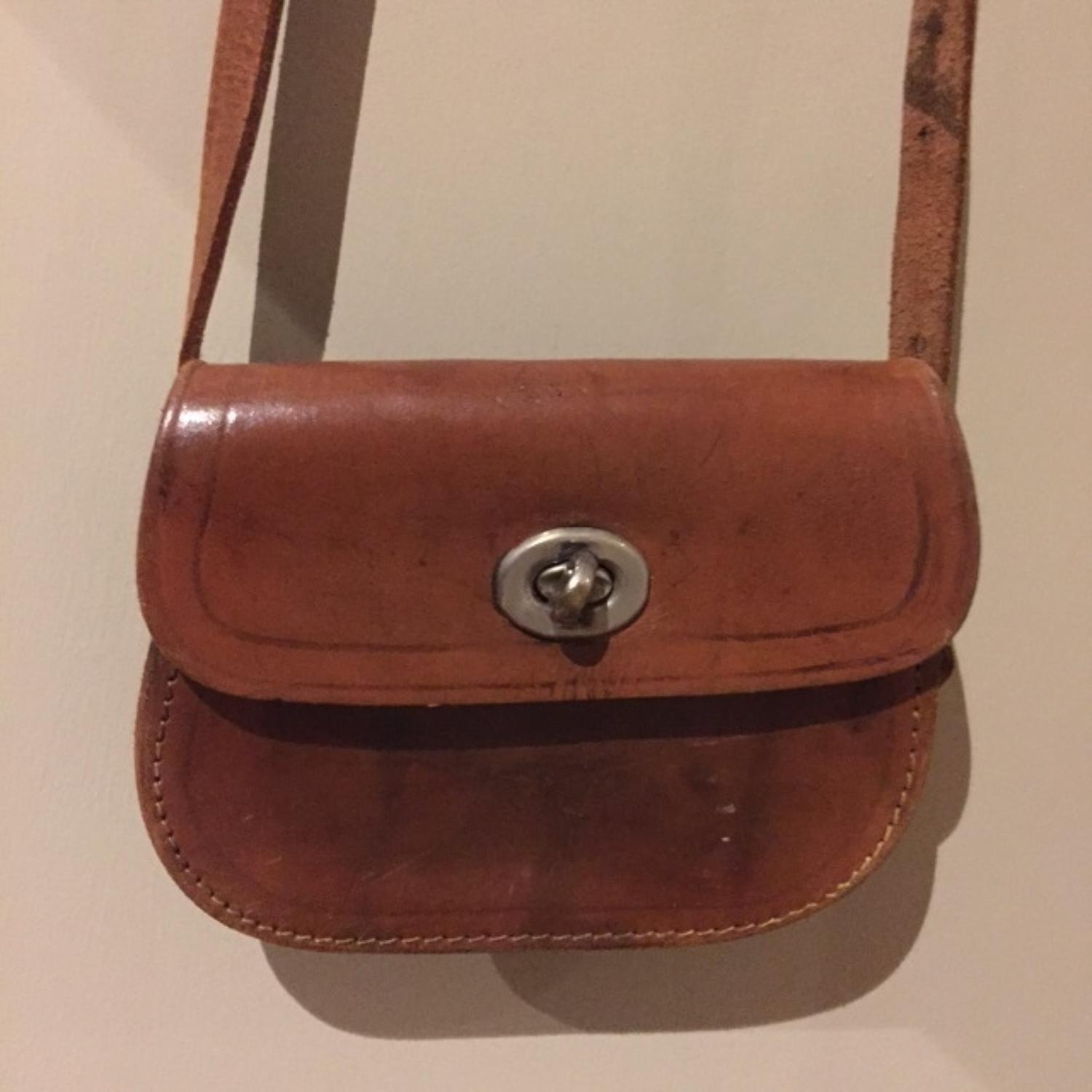 Child's Leather Satchel