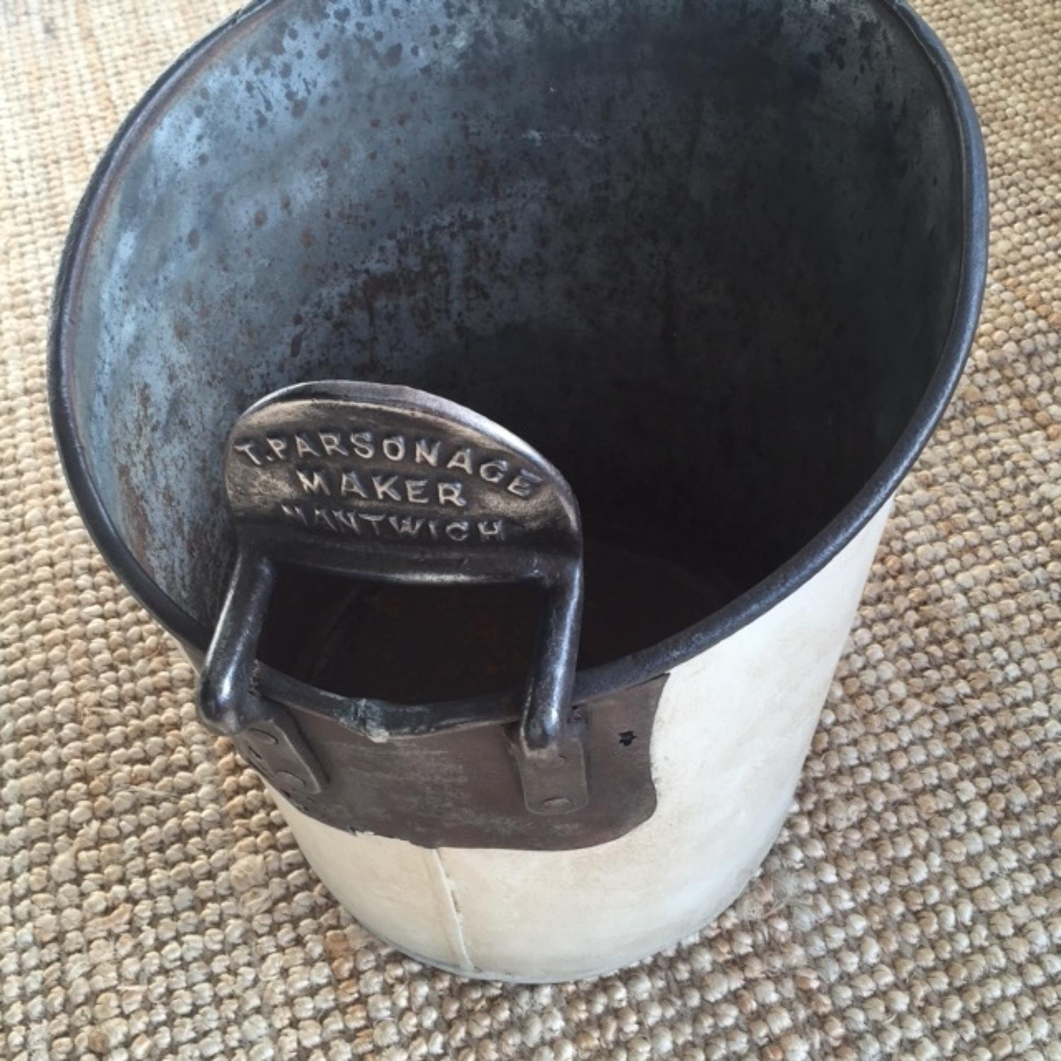 T Parsonage Milking Pail