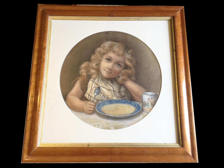Victorian Original Advertising Illustration o