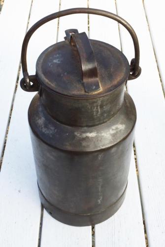 Vintage 2 gallon Milk Churn