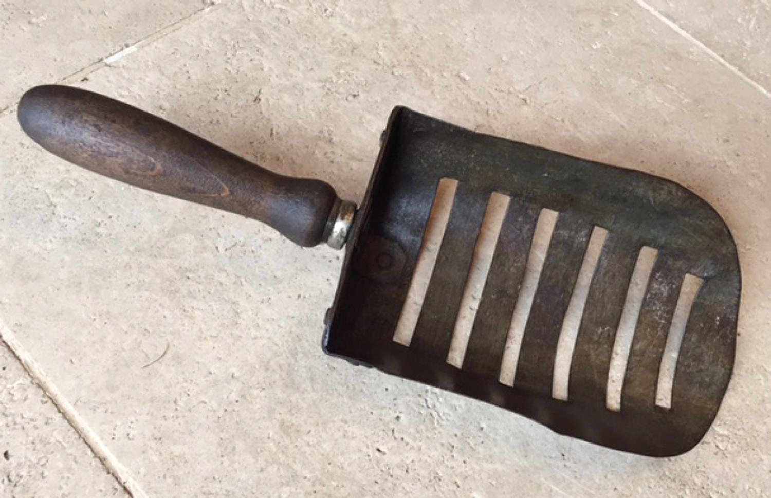 Vintage Slotted Feed Scoop